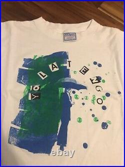 Vintage Yo La Tengo shirt L nirvana sonic youth tannis root pavement sebadoh