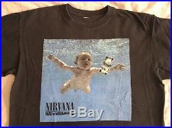 Vintage nirvana t shirt Nevermind Album Cover