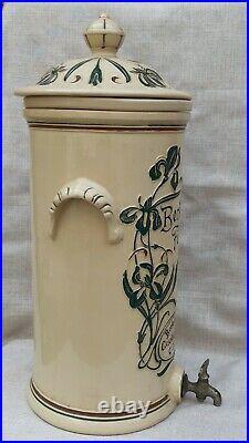 Vtg Rare Large French Antique Art Nouveau Berkefeld Water Filter Circa 1900